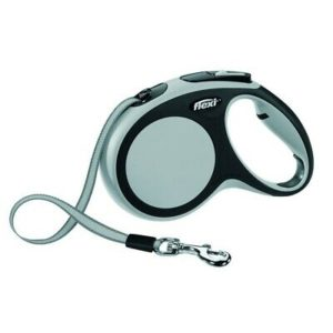 Rolleine Automatikleine Flexi Leine 5 m Gurt Hundeleine New Comfort Grau 25 kg