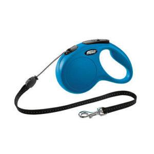flexi Roll-Leine – Roll-Hundeleine flexi New Classic Seil 5 m blau M