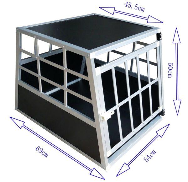 Hundetransportbox S fürs Auto, Reisebox, Hundebox, Käfig, Transportbox 1