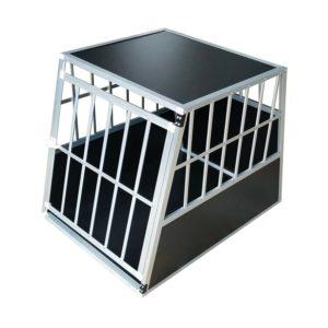 Hundetransportbox M fürs Auto, Reisebox, Hundebox, Käfig, Transportbox