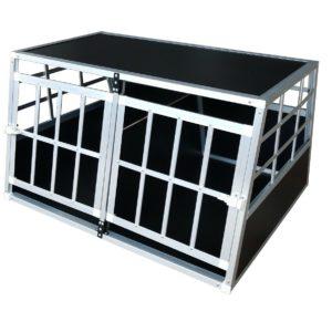 Hundetransportbox L fürs Auto, Reisebox, Hundebox, Käfig, Transportbox