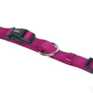 Nobby Halsband Classic himbeere L: 40-55cm B: 20mm