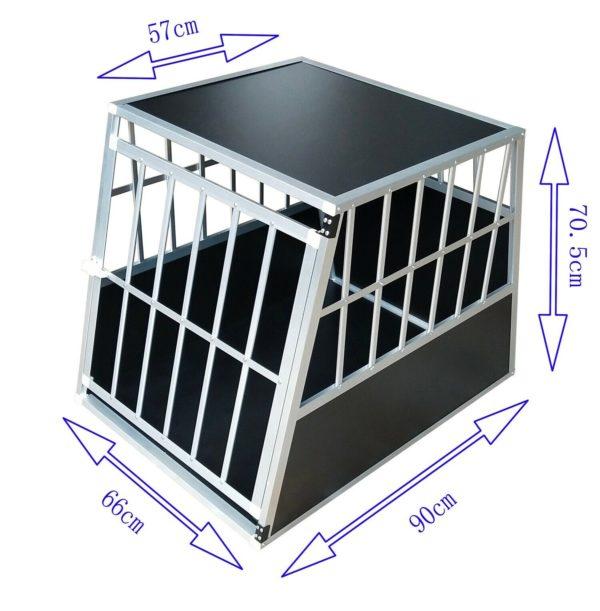 Hundetransportbox M fürs Auto, Reisebox, Hundebox, Käfig, Transportbox 1
