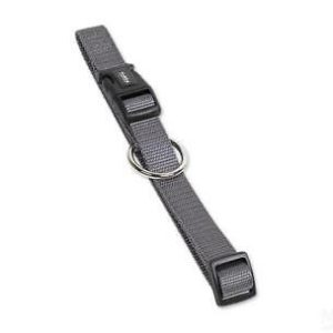 Nobby Halsband Classic mausgrau L: 40-55cm B: 20mm