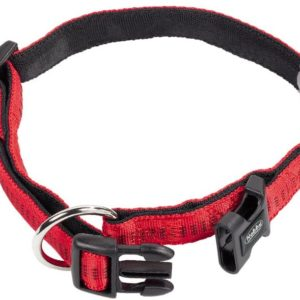 Nobby Halsband Soft Grip rot L: 25/35cm B: 15mm